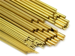 0.40MM/650MM BRASS TUBE(40PCS)