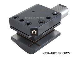 CB1-4025.M: CB1-4025.M CNC Lathe VDI Axial-Radial Tool Holder Right Hand Shank 40mm H1=25 (mm)