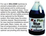 CIC5: H2O Plus Blue Wire EDM Corrosion Inhibitor & Cleaner (5gal)