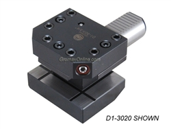 "D1-30-C20x3-90 CNC Lathe VDI Axial-Radial Tool Holder Right Hand Shank 30mm H1=3/4"" (inch)"
