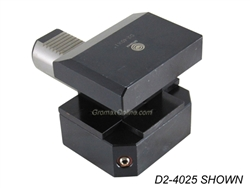 D2-4025.M: D2-4025.M CNC Lathe VDI Axial-Radial Tool Holder Left Hand Shank 40mm H1=25 (mm)