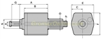 DA30548216C: AXIAL CUTTING HEAD TO DIN6358