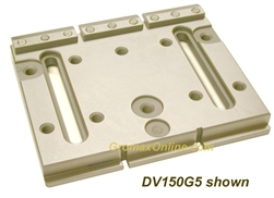 DV150G3: 6'x4.8'x0.6'+0.12' two slots for clamping and leveling