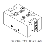 DW230-C19.05x2-60 Double OD Holder for YCM 2000LSY (Use BMT55)