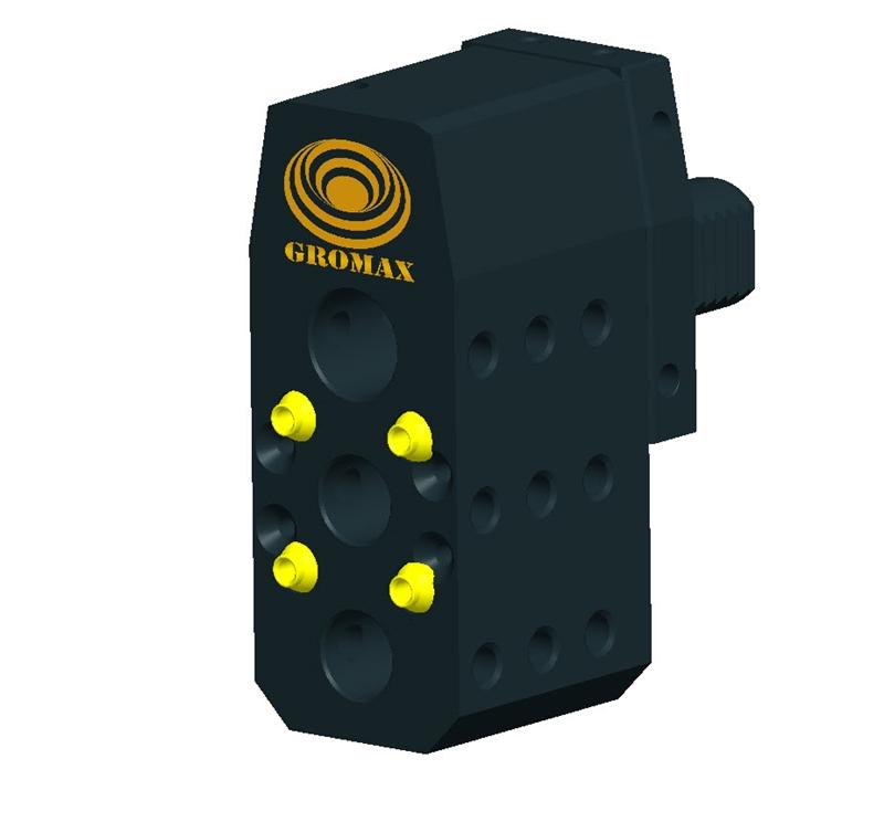 "E2-30x20 VDI Boring Bar Holder w//Dual External Coolant  D=30mm D1=3//4/"""