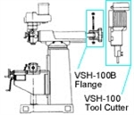VSH-100B: VSH-100B , FLANGE FOR SLOTTING HEAD