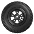 "200x50 - 8"" pneumatic tire w/5 spoke rim and 9.5mm I.D. bearings"