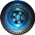 230mm x 65mm  Pneumatic mountainboard wheel with hub and 12mm bearing
