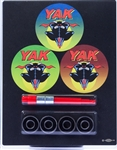 YAK ABEC7 4-BEARING CLAMPACK WITH BEARING REMOVAL TOOL