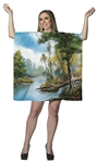 Bob Ross Woman's Dress Costume