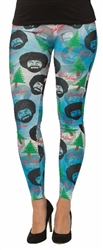 Bob Ross Woman's Leggings--Size Small/Medium