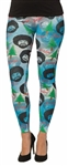 Bob Ross Woman's Leggings--Size Large/XLarge