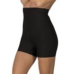 High Waist Compression Mini Shorts