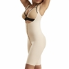 1St Stage Girdle with Suspenders, High Back & Knee Length Leg Coverage