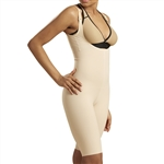 2nd Stage Girdle with Suspenders, a High Back & Knee Length Leg Coverage