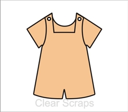 Boy Bib Overalls Chip Album