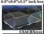 Clear Box Tray Box