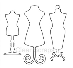 Dress Forms Embellishments