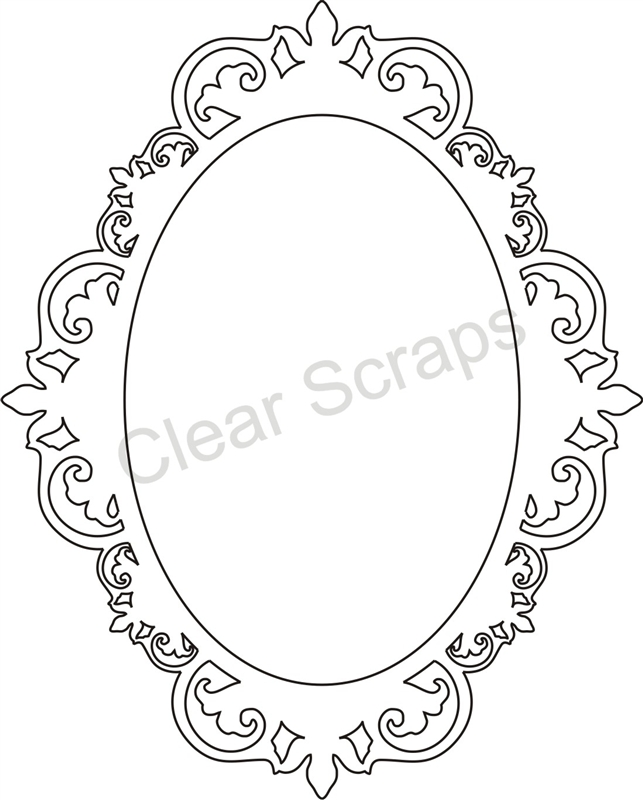 Gallery For gt Fancy Oval Picture Frame