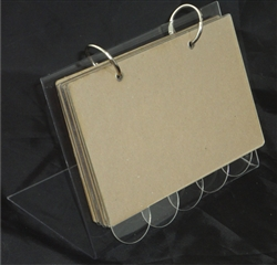 "Acrylic Recipe Stand 4""x6"" Kit"