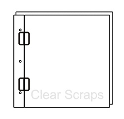12x12 Acrylic Top Load Regular Album