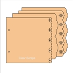 "BIYW Fancy chipboard 6.5""x6.5"""