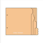 "BIYW Fun Tabs chipboard 6.5""x6.5"""