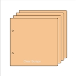"BIYW Regular chipboard 6.5""x6.5"""