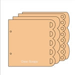 "BIYW Scalloped chipboard 6.5""x6.5"""