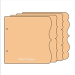 "BIYW Deco chipboard 9.0"" x 11.0"""