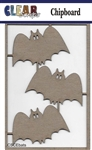 Bats Chipboard Embellishments
