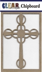 Celtic Cross Chipboard Embellishments