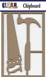 Hammer Set Chipboard Embellishments