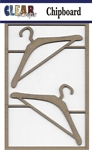Clothes Hangers Chipboard Embellishments