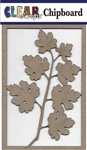 Maple Branch Chipboard Embellishments
