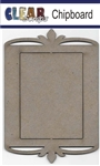 Rectangle Deco Top Chipboard Frame