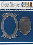 Oval Deco Top Mirror Frame