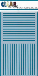 5 x 9 Stripes Layering Stencil