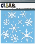 "12"" Ice Crystal Snowflakes"