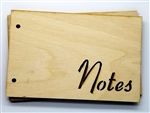 Notes Wood Card