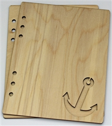 Anchor 6X8 Wood Album