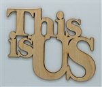 This is US XL Script Wood Quote