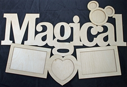 "Magical 1/8"" Birch Wood Frame"