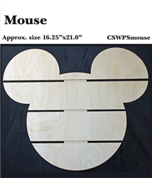 Mouse DIY Pallet Shape