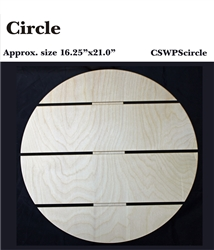 Circle DIY Pallet Shape