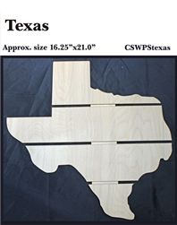 Texas DIY Pallet Shape
