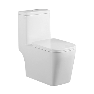 Binli® BL-128-OPT One-Piece Toilet, 1.28 &0.9 GPF