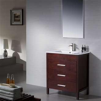 Vanity Morris 30 with Porcelain Top