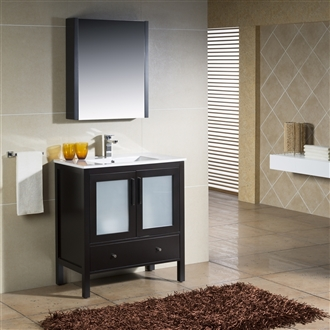 Vanity Fulton 32 with Porcelain top