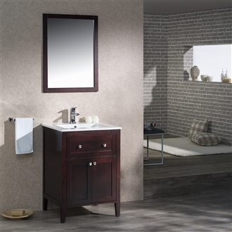 Vanity Victoria 25 with Porcelain Top